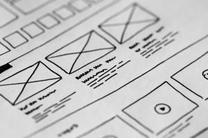 Sådan kan det se ud når vi begynder med dit hjemmeside design