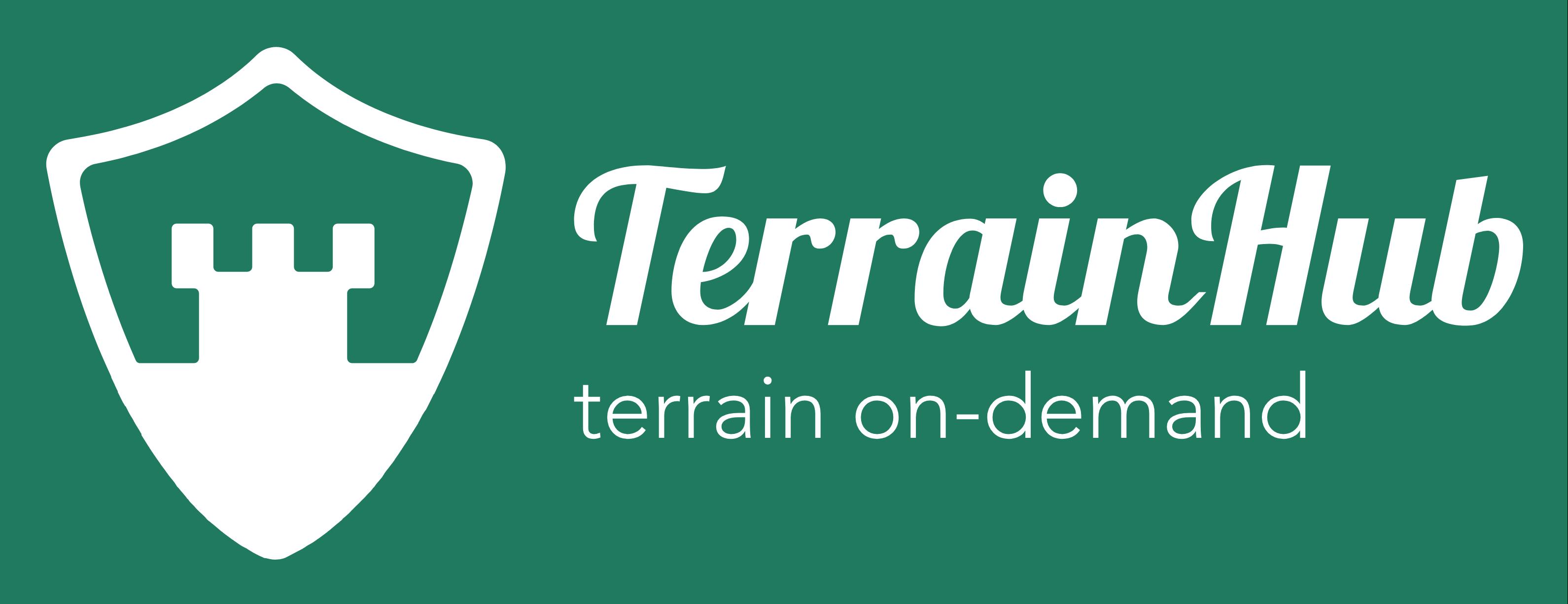 Terrainhub.com logo - alt inden for 3d print