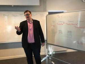 Christian holder oplæg om iværksætteri